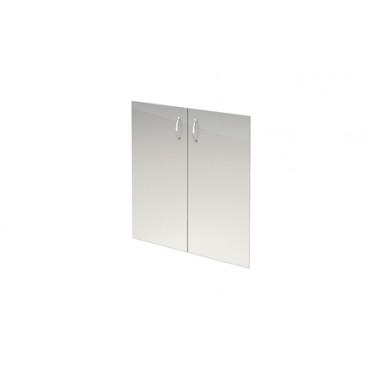 Комплект стеклянных тонированных дверей А-стл302 к шкафу А-302