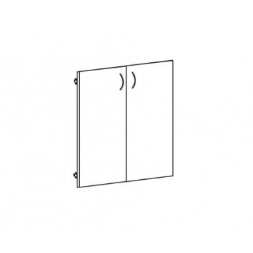 Дверь ЛДСП В-862 к широкому шкафу