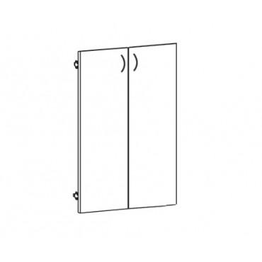 Дверь ЛДСП В-864 к широкому шкафу
