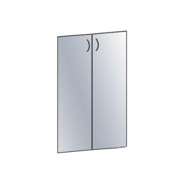 Двери стеклянные В-868 к широкому шкафу