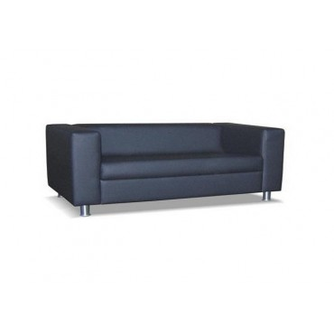Трехместный диван Аполло (хромированные опоры)