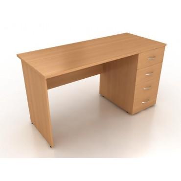Стол однотумбовый СО6-14 L/R 1400х600