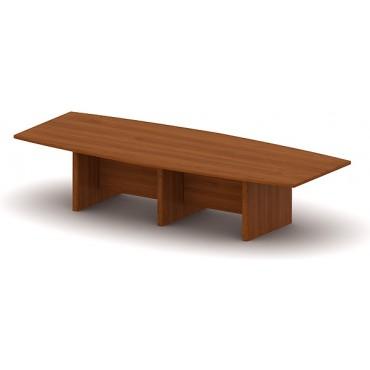 Стол переговорный ДР-СТГ350х140-В1 Миланский орех светлый