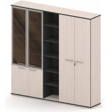 Шкаф-гардероб 3-хсекционный СЕ-ШГ3С220х225К1Г1ДС/Г-В1