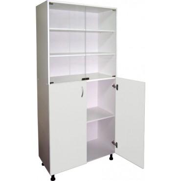 Шкаф медицинский М202-034 (полки из стекла)