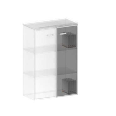 Двери стеклянные (комплект - 2 шт.) ТЖ-607
